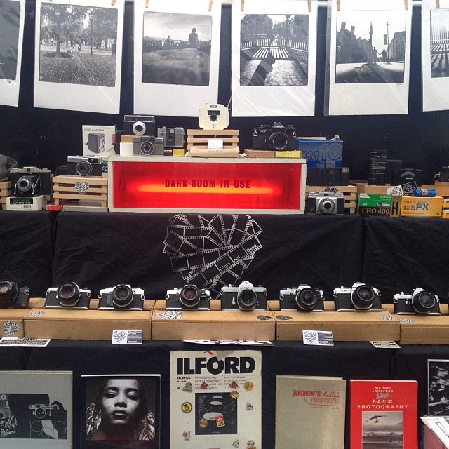 We're in our usual spot at the Backyard Market, Brick Lane today and tomorrow 10-6 with goodies!!! #Filmsnotdead