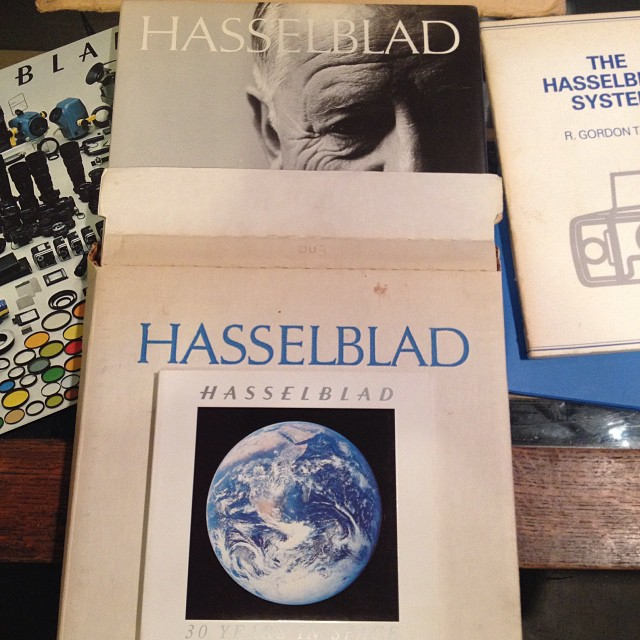 Hasselblad books in stock!!! #Filmsnotdead #hasselblad