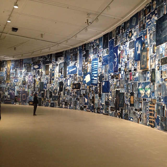Walead Beshty's amazing Cyanotype exhibition with over 12,000 prints on display at the Barbican Centre! #Filmsnotdead  www.filmsnotdead.com/events/walead-beshty-a-partial-disassembling-of-an-invention-without-a-future-barbican/