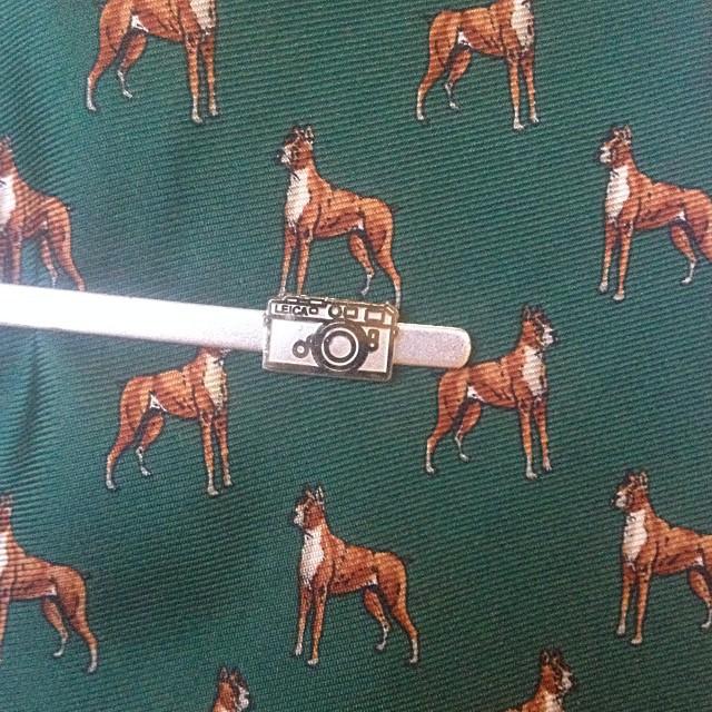 A Leica pin tie! #Filmsnotdead