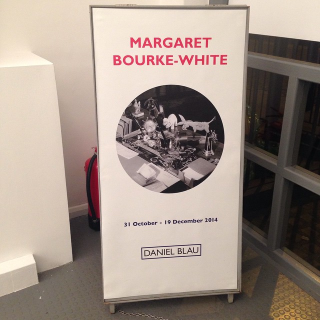 Margaret Bourke-White exhibition should be on your list of shows to see @danielblaulondon gallery on display until the 20th of December! #Filmsnotdead