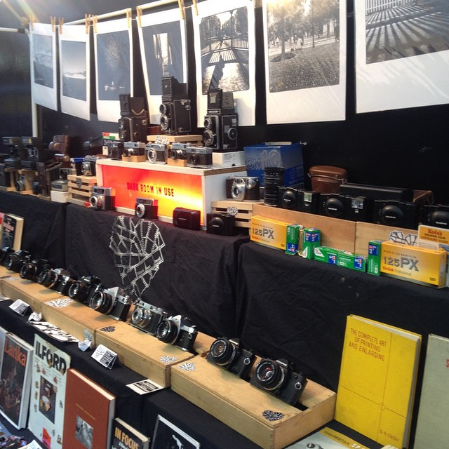 We're in our usual spot at the Backyard Market Brick Lane, London today and tomorrow from 10-6! #Filmsotdead #Film