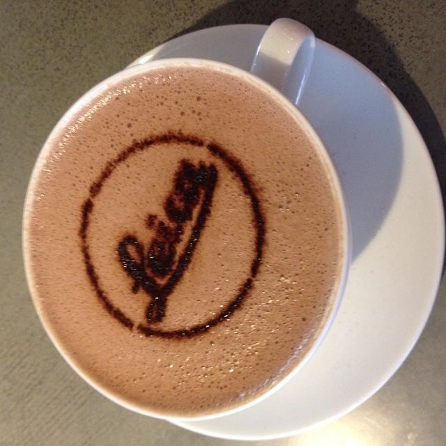 Leica hot chocolate! #FilmsnotDead