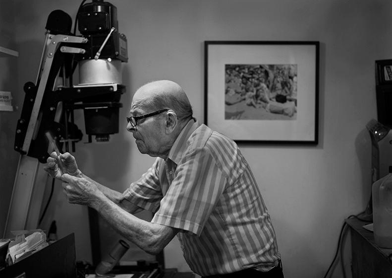Arthur Leipzig, Photographer © Nancy Levine
