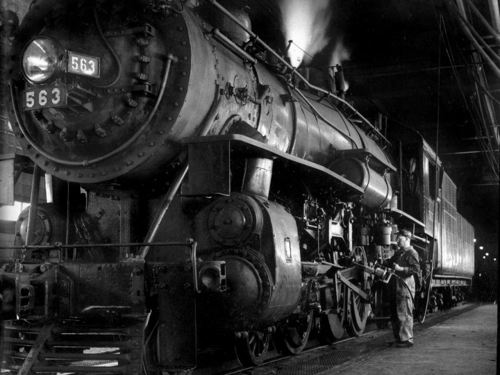 Ogle Winston Link – The Steam Railroad Photographer