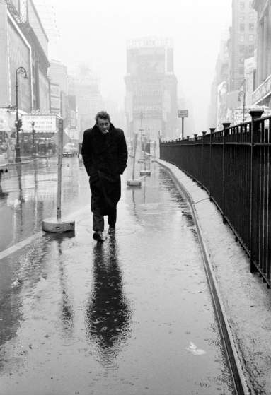 © Dennis Stock - James Dean, New York City, 1955.