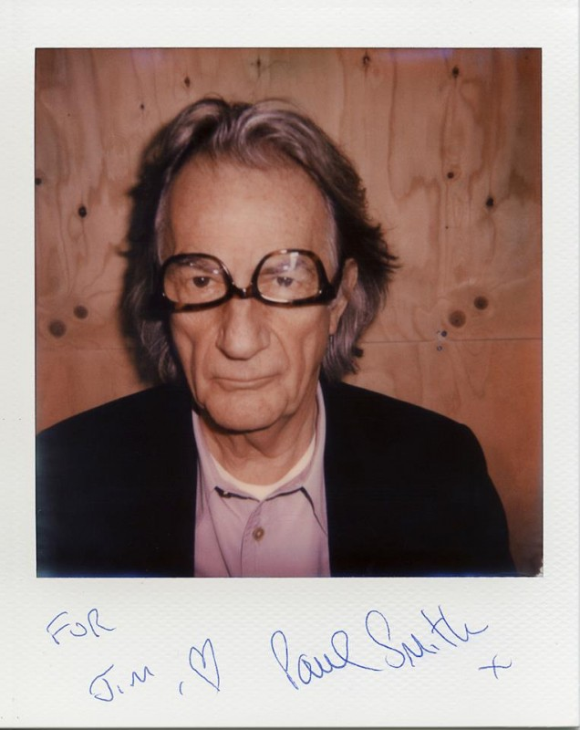 © Portrait of Paul Smith by Jim Eyre
