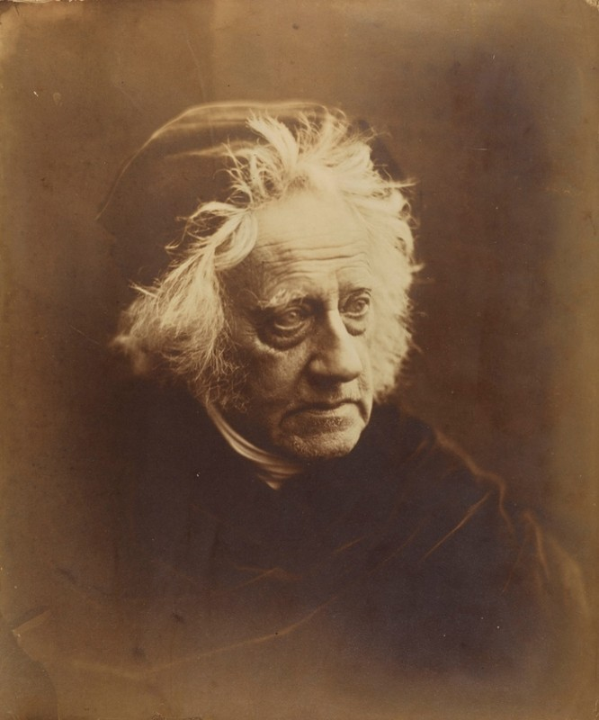Sir John Herschel with Cap, April 1867, Julia Margaret Cameron © National Media Museum, Bradford