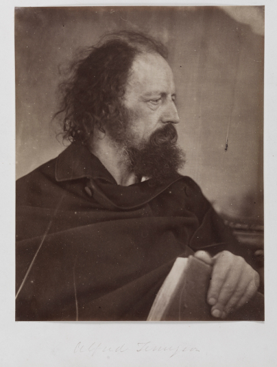 Alfred Tennyson with Book, May 1865, Julia Margaret Cameron © National Media Museum, Bradford