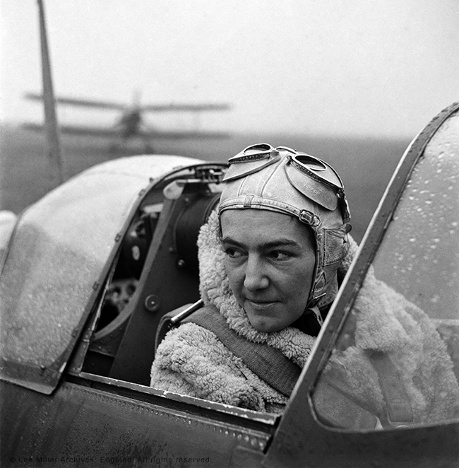 Lee Miller: A Women's War - Review web-Anna-Leska-Air-Transport-Auxilliary-Polish-pilot-flying-a-spitfire-England-1942-by-Lee-Miller-4327-45 Reviews