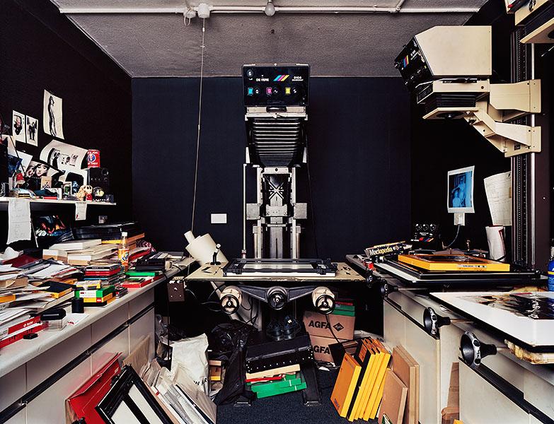 Фотолаборатория садится химия